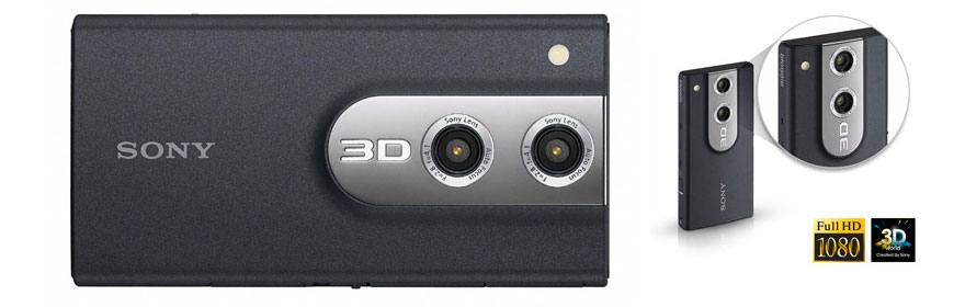 The Sony Bloggie 3D Full HD Digital Video and Still Camera