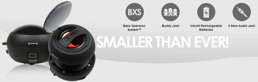 X-mini™ Capsule Speaker – Great Sound at an amazingly cheap price no wonder it's the most popular mini speaker on the market!
