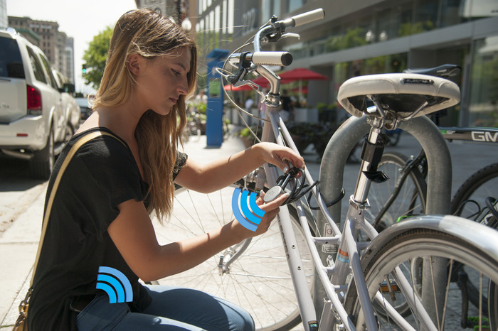 The Noke Wireless Bluetooth Padlock