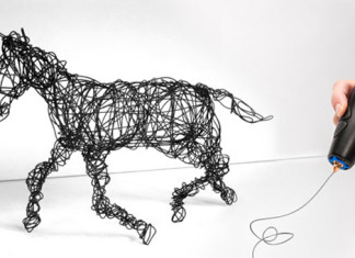 3D Pen by 3Doodler draw in 3D