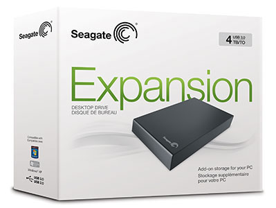 4tb External Hard Drive by Seagate