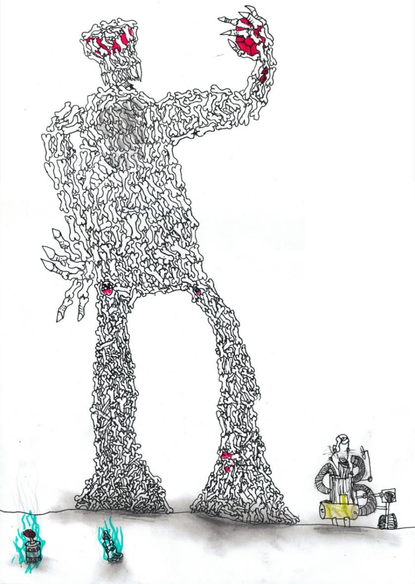 The Bone Lord - By Jacob Tunnard - Age 8