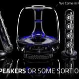 The Best PC Speakers - Soundsticks IIII By Harman Kardon