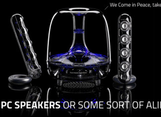 The Best PC Speakers - Soundsticks IIII By Harman Kardon