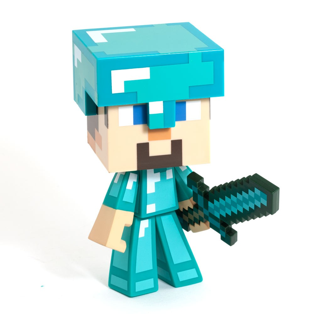 Large Minecraft Steve Toy Figure