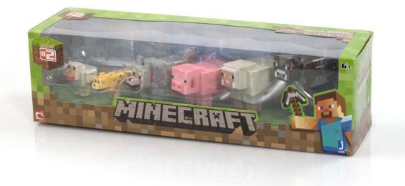 Minecraft Animal Toy Figures
