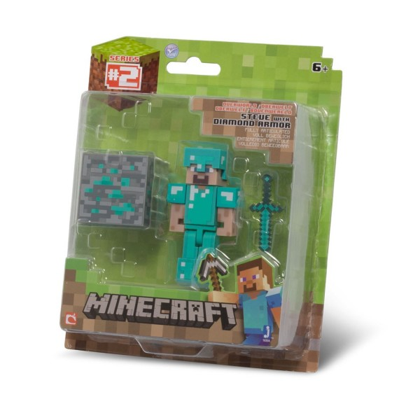 Diamond Steve - Minecraft Figure Gift Idea