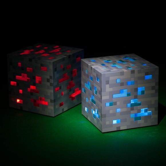 The Minecraft Night Light Glowing