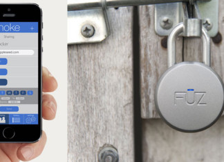 Noke Bluetooth Padlock unlocks wirelessly with your smarphone