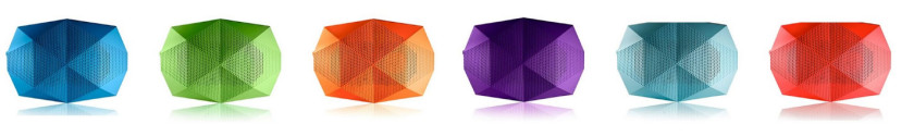 Turtle Shell Speakers avaialble in loads of colours