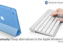 Bluetooth Keyboard for iPad - Alternative to Apple's Wireless Keyboard