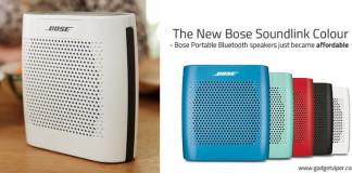 Bose Soundlink Colour Portable Bluetooth Speakers