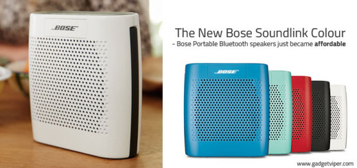 Bose Soundlink Colour Portable Bluetooth Speakers