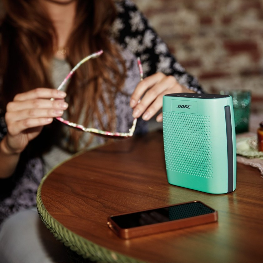 The Bose Soundlink Colour Bluetooth Speaker