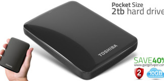 Toshiba Hard Drive that fits in your pocket