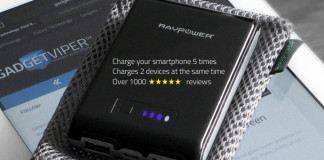 RAVpower Portable phone charger - charges your iPhone over 5 times