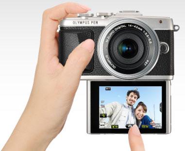The Olympus Pen - Selfie Camera
