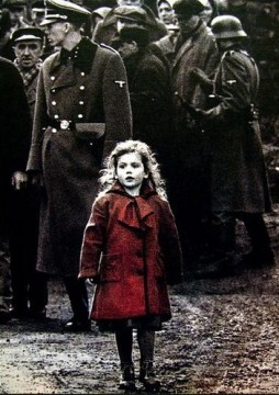 Schindlers list girl in red dress