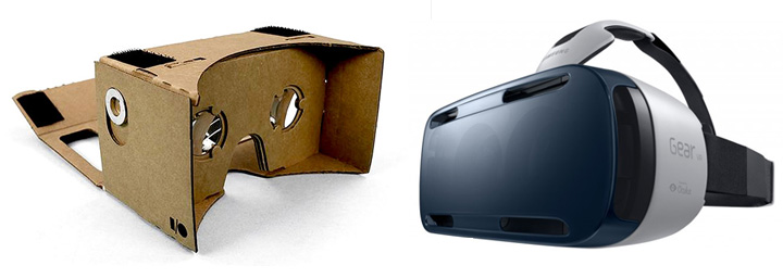 Virtual Reality Headset that use a mobile phone as the screen