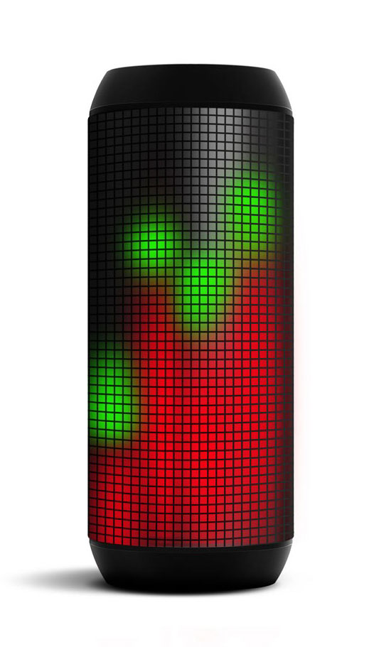 The colourful LED display on the T900 Helium Speaker