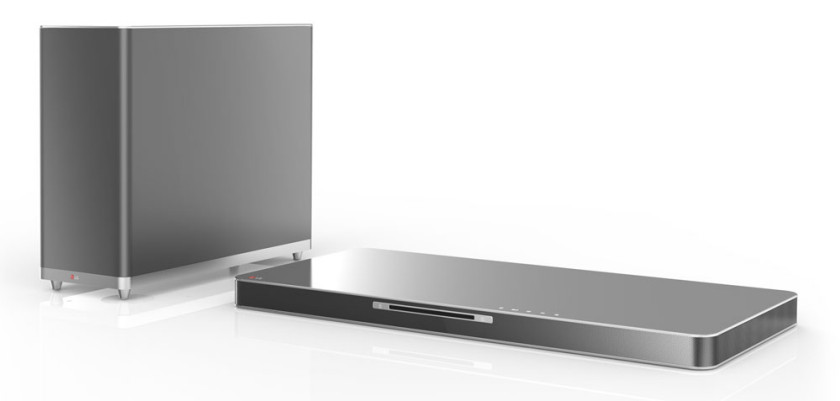 The LG Soundplate with Blu-Ray, Bluetooth, Smart TV and Online Services