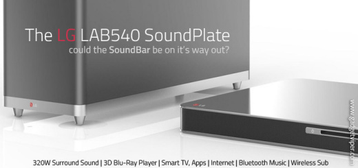 LG Soundplate with Blu-Ray player and Wireless SubWoofer