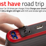 The Must Have Road Trip Gadget - The Jumbl Multi Function Battery Jump Starter