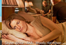 Breaking Bad's Skyler White looks like Woody Harrelson