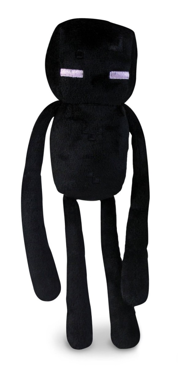 The Minecraft Enderman Plush Toy