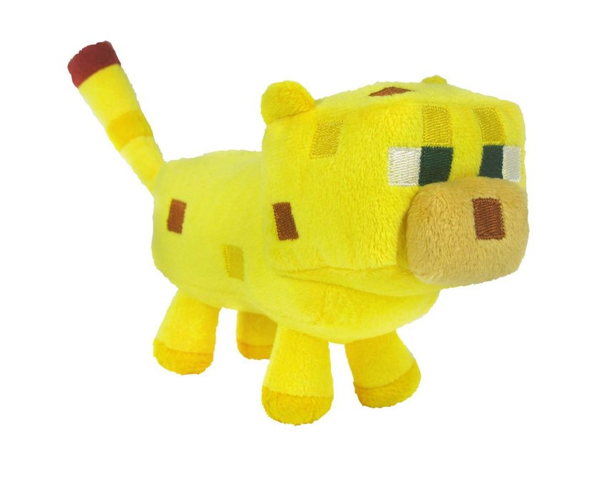 The Soft Minecraft Ocelot plush toy