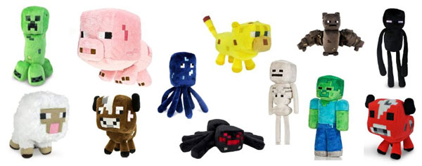Minecraft Plush Toys - The perfect gift for young minecraft fans