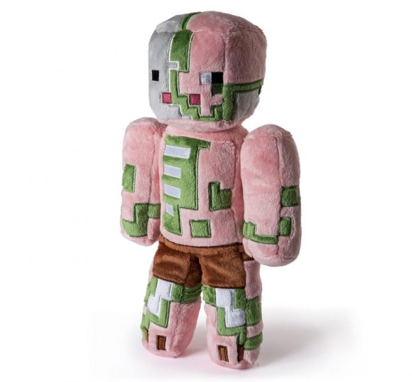 "Minecraft Zombie Pigman Plush, 12"" official Minecraft PigMan Soft Toy"