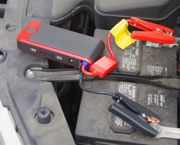 A portable jump starter for your vehicle