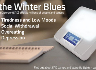 Beat the Winter Blues by using light therapy from a SAD lamp
