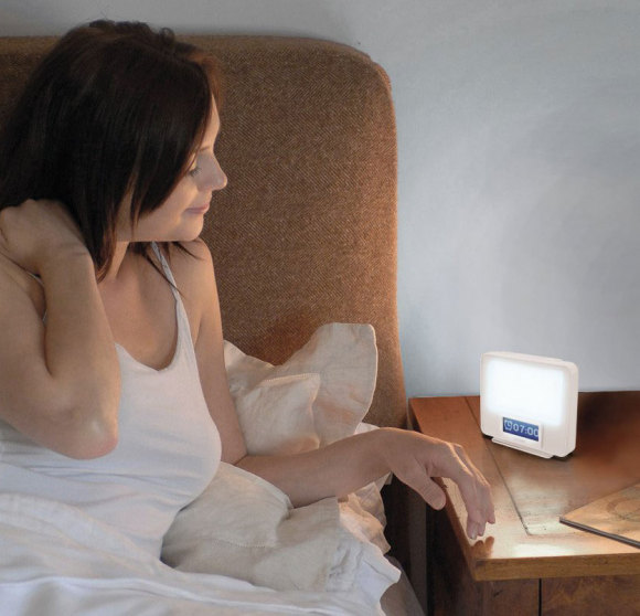 Wake up Light and SAD lamp for preventing seasonal affective disorder