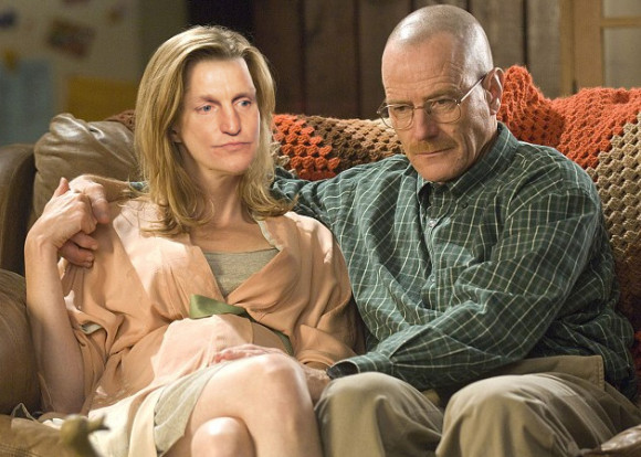 Skyler White looks like Woody Harrelson