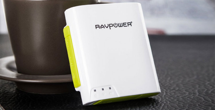 The RavPower File Hub - A Portable WiFi Router, Battery charger and media access device