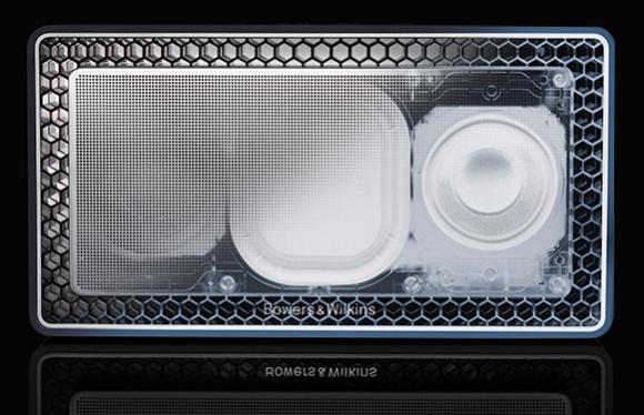 The B&W T7 bluetooth speaker has bespoke drive units and twin bass radiators