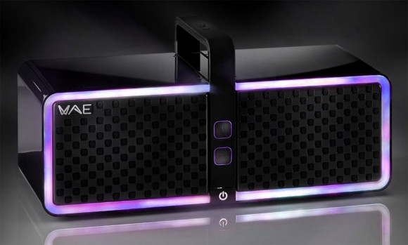 The Hercules Wae Neo Bluetooth Speaker with LED sound sensitive lighting