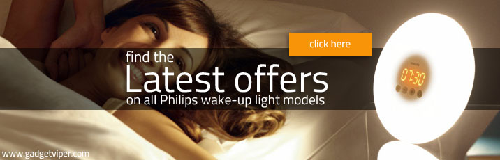 Best offers on Philips wake up light alarm clocks
