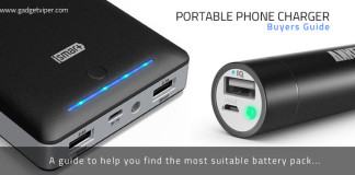 A Portable Phone Charger and Batter Pack buyers guide
