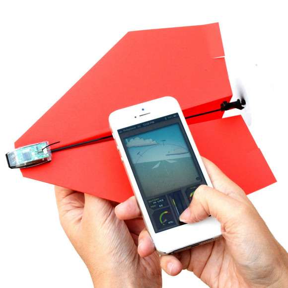The PowerUp 3.0 can turn your paper airplanes into RC planes