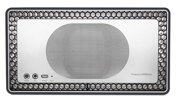 Rear view of the T7 bluetooth speaker