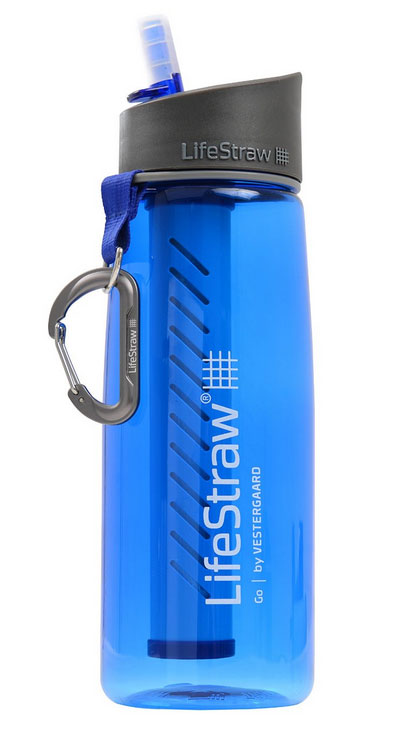 The LifeStraw Go Water Bottle