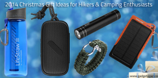 Hiking Gift ideas Christmas 2014