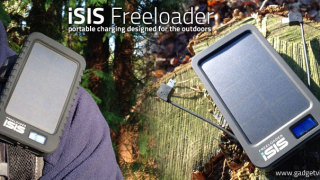 iSIS Freeloader Solar Phone Charger