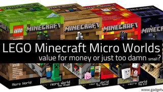 Micro World Minecraft Lego Sets