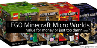 Lego Minecraft Micro World Sets - Value for Money or just too damn small?