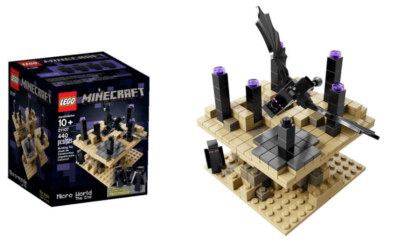 Lego Minecraft Sets - The End - 21107