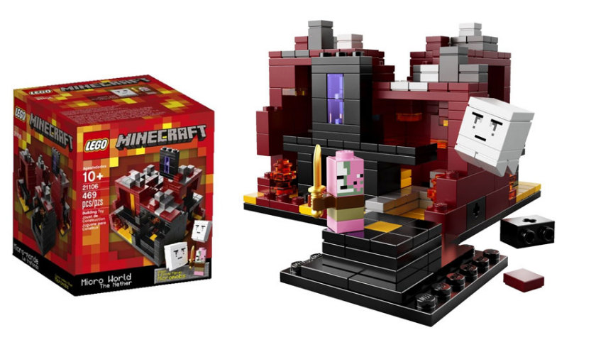 Lego Minecraft Sets - The Nether - 21106